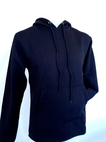 Black NO zip hoody