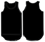 Shearing Singlet | Black - Black Trim