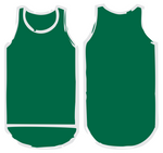 Dark Green Shearing Singlet