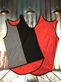Random Coloured Shearing Singlet - Just Shear