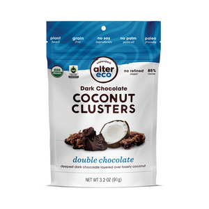 Alter Eco - Double Choc Coconut Clusters