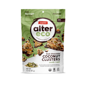 Alter Eco - Seed and Salt Coconut Cluster