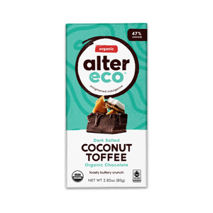 Alter Eco - Coconut Toffee Dark Chocolate