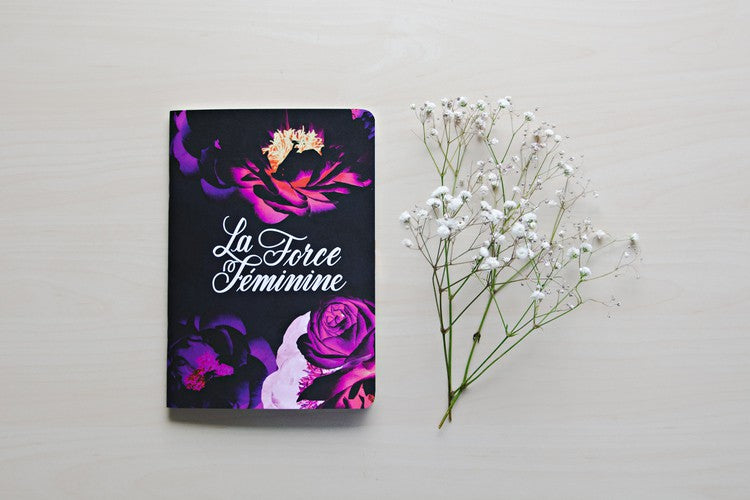 Inspirationery - La Force Feminine Notebook