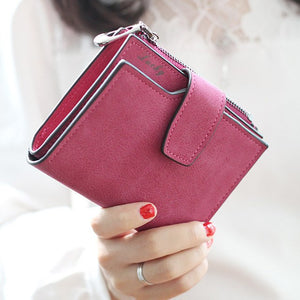 New Fashion Lady Letter Snap Wallet