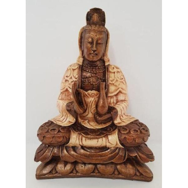 KWAN YING BUDDHA STATUE-2 COLOUR - WORLD OF DECOR
