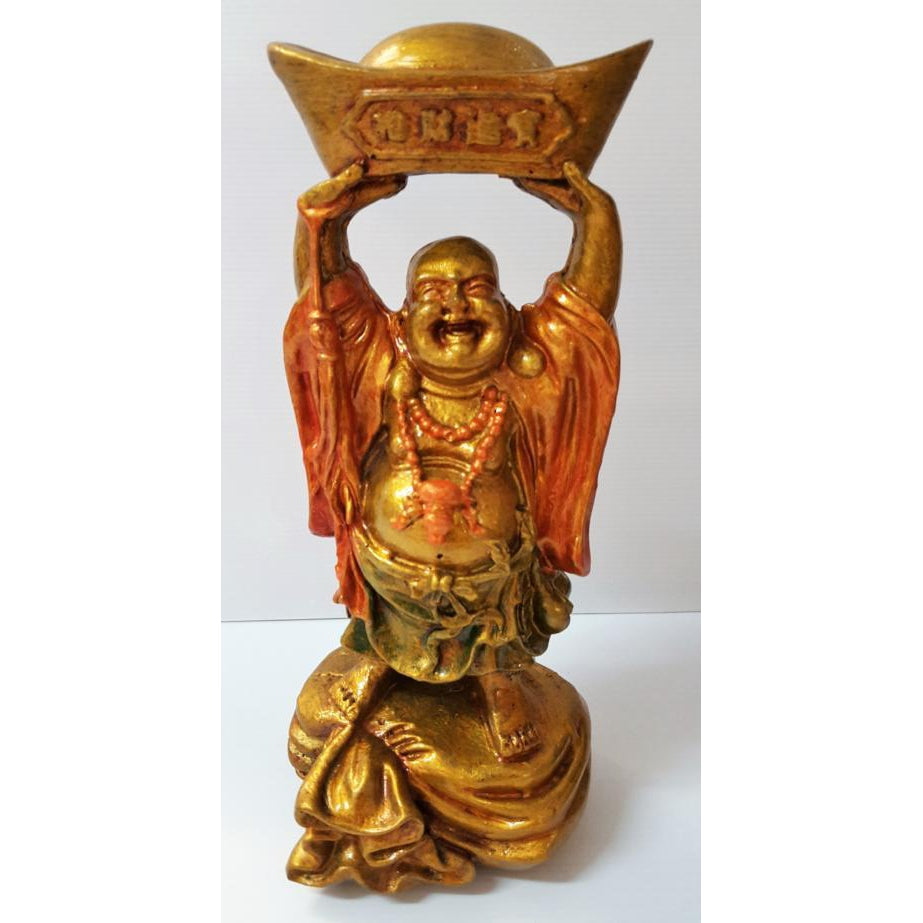 Buddha on gold sack 3 colours to choose from. - WORLD OF DECOR