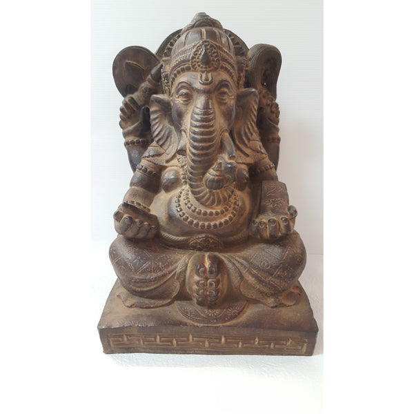 POLYRESIN GANESH 30CM - WORLD OF DECOR
