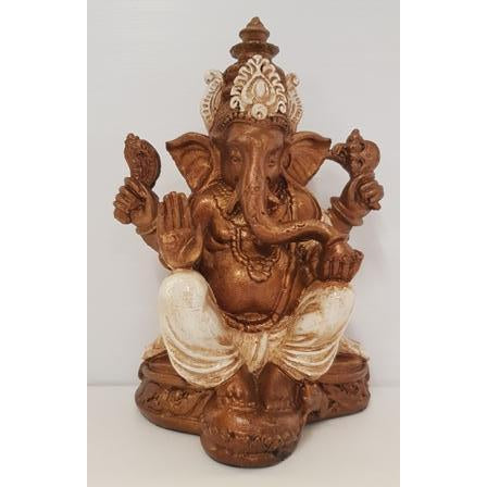 POLYRESIN GANESH 23CM - WORLD OF DECOR