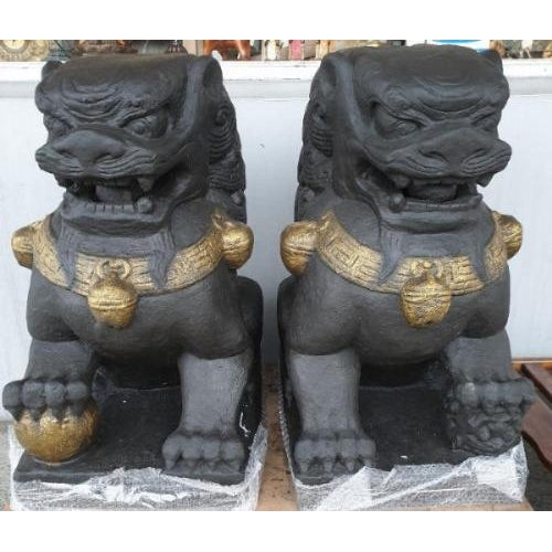 Fu dogs for protection set of 2 (Temple dogs)