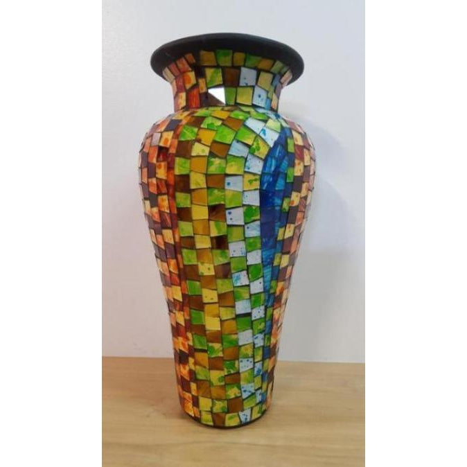 Hundervase mosaic vase 80cm - WORLD OF DECOR