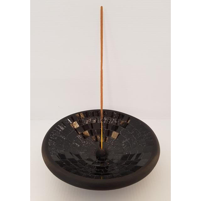 Mosaic incense holder - WORLD OF DECOR