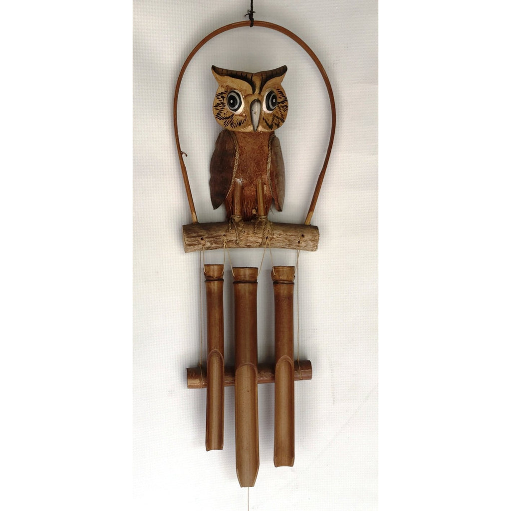OWL WIND CHIMES - WORLD OF DECOR