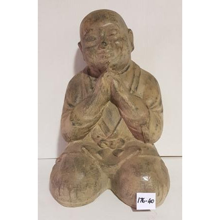 THINKING MONK KNEELING - WORLD OF DECOR