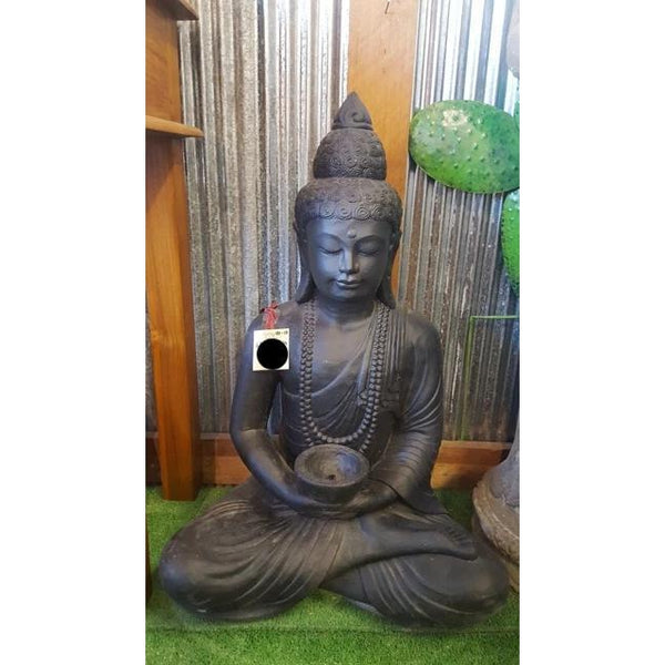 Buddha Water Feature with bowl - WORLD OF DECOR