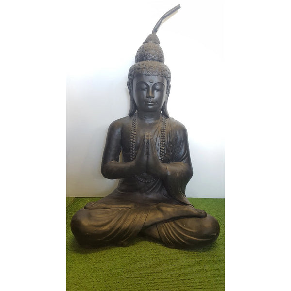 Buddha Greeting Water Feature - WORLD OF DECOR