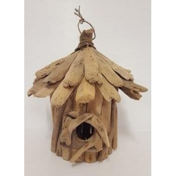 Rustic drift wood birds house - WORLD OF DECOR