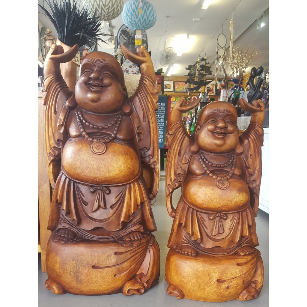 LAUGHING BUDDHA STANDING - WORLD OF DECOR