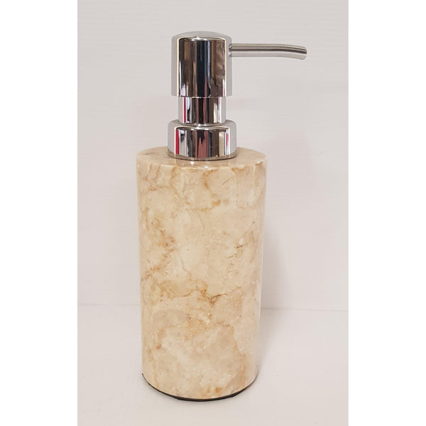 MARBLE SOAP DISH,SOAP DISPENSER AND TOOTHPASTE HOLDER - WORLD OF DECOR
