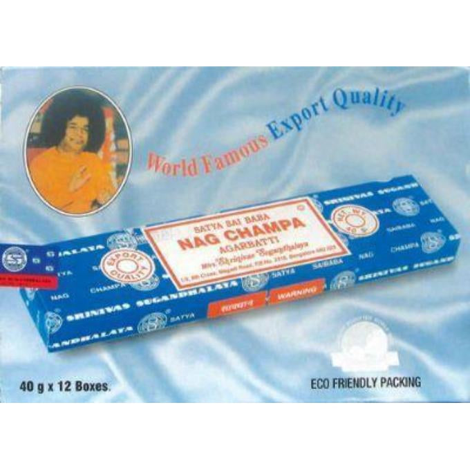 NAG CHAMPA - AGARBATTI INCENSE - WORLD OF DECOR