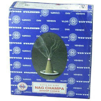 NAG CHAMPA INCENSE CONE - WORLD OF DECOR