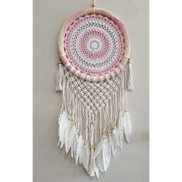 Crochet dream catcher 33CM-3 color to choose