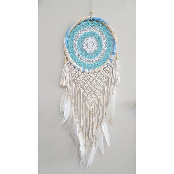 Crochet dream catcher 33CM-2 color to choose - WORLD OF DECOR