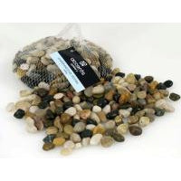 SMALL POLISHED STONES - MIXED