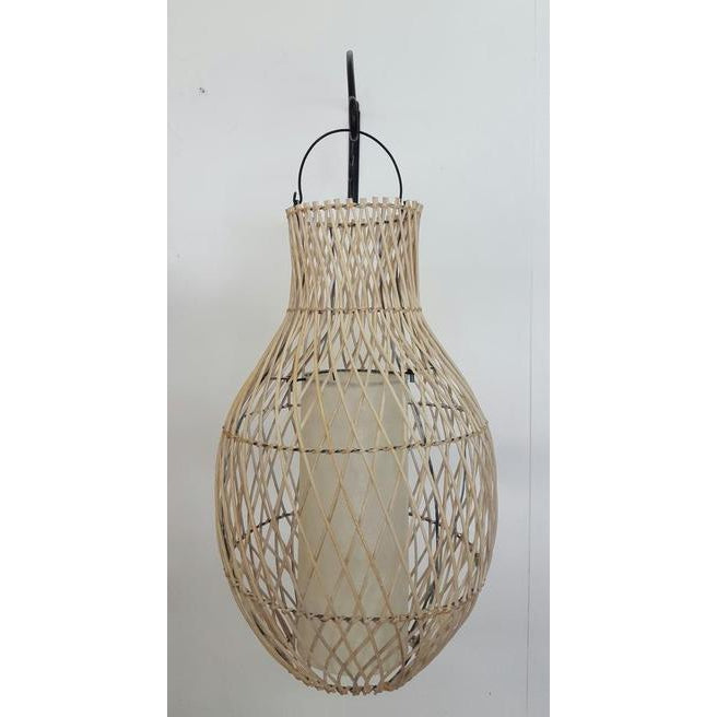 Cane lamp shade 2 colours - WORLD OF DECOR