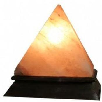 PYRAMID SALT LAMP - WORLD OF DECOR
