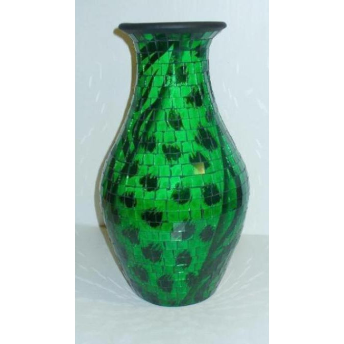 Floor standing mosaic vase - WORLD OF DECOR