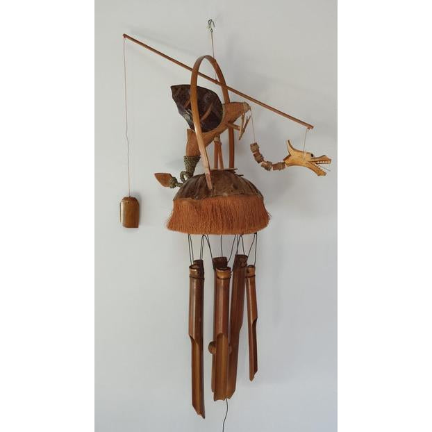 Dragon bamboo wind chimes - WORLD OF DECOR