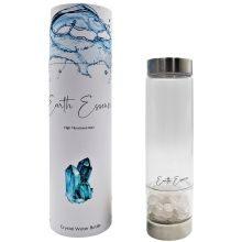 Crystal water bottle-Clear chip - WORLD OF DECOR