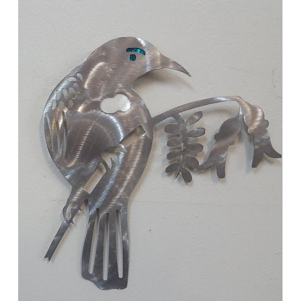 Tui stainless wall art - WORLD OF DECOR