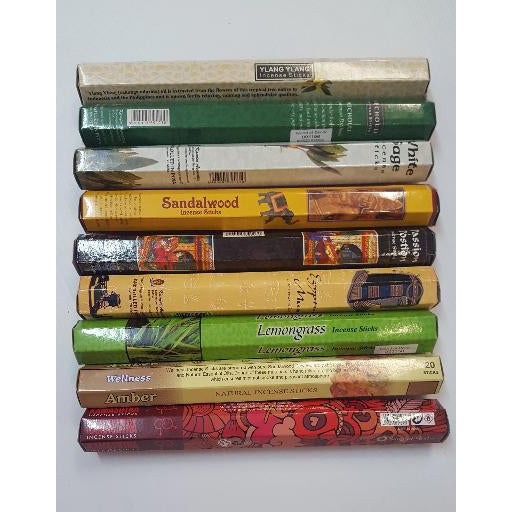 Incense stick 20g-over 30 fragrance - WORLD OF DECOR