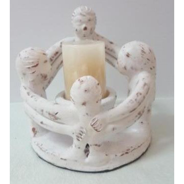 Circle of family candle holder - WORLD OF DECOR