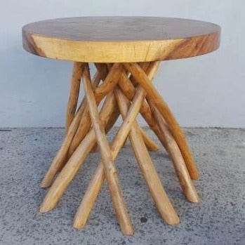 Rustic table-Natural - WORLD OF DECOR