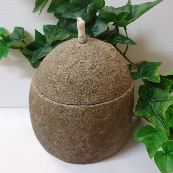 Natural Volcanic Rock outdoor lamp