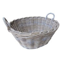 Oval laundry basket - WORLD OF DECOR