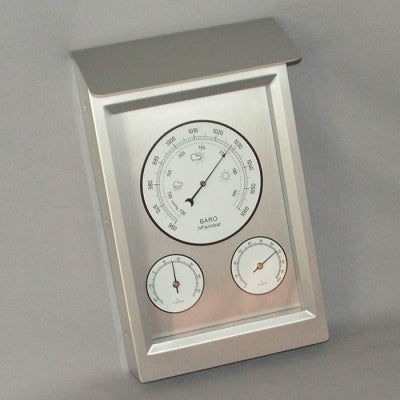 Aluminium Case Weather Station - WORLD OF DECOR