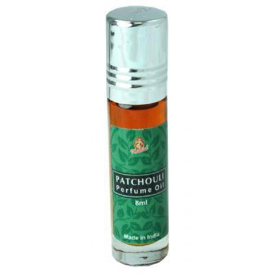 Kamini Perfume Oil 8ml Roll-On Bottle, Patchoulli - WORLD OF DECOR