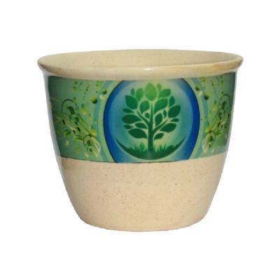 Ceramic smudge stick pot-Tree of life - WORLD OF DECOR