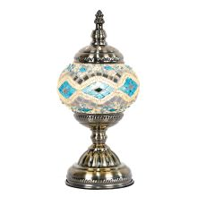 Turkish Mosaic Electric Lamp - WORLD OF DECOR
