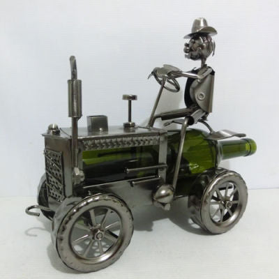 Wine Bottle Holder-Tractor
