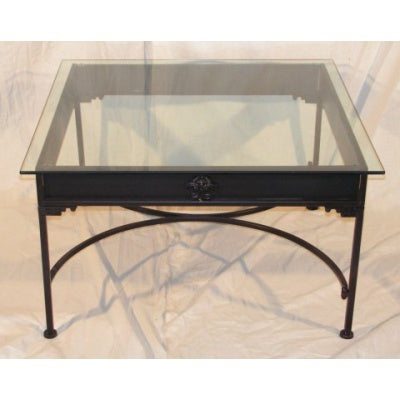 Glass coffee table - WORLD OF DECOR