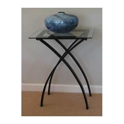 Glass side table - WORLD OF DECOR