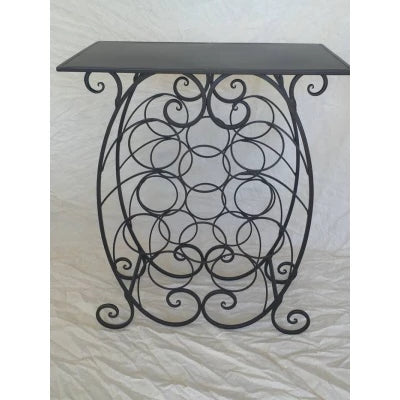 Wine rack table - WORLD OF DECOR