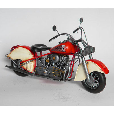 Red Indian Motorbike - WORLD OF DECOR