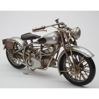 Motorbike-Silver - WORLD OF DECOR
