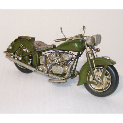 Motorbike Classic (Green) - WORLD OF DECOR